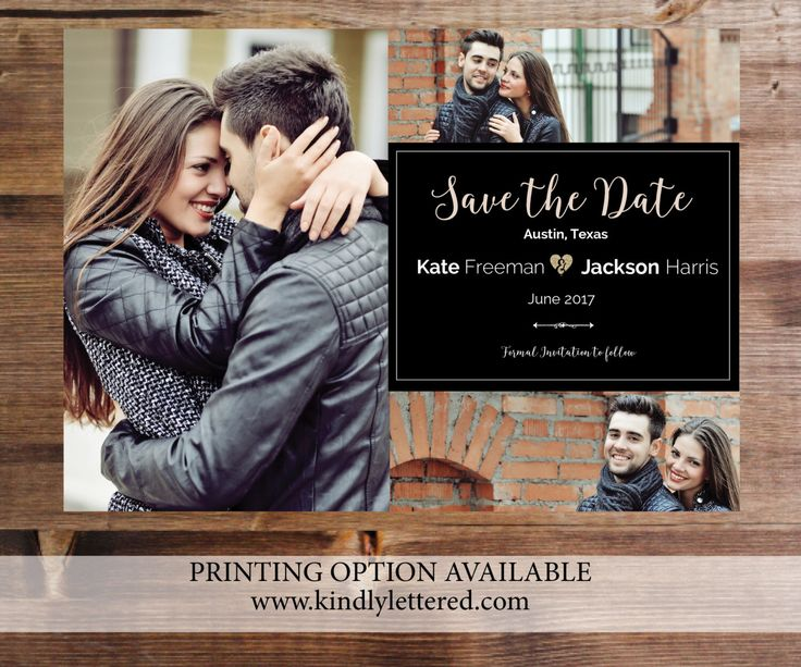 A personal favorite from my Etsy shop https://www.etsy.com/listing/225767025/printable-photo-save-the-date