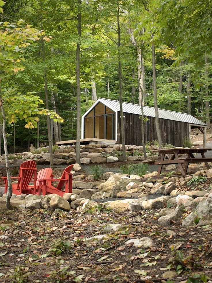 Petite maison préfabriquée par les architectes et designers de BDLG Workshop et de 608 Design.