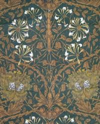 William Morris fabric.to cover large trunk