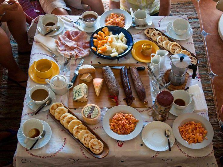 desayuno colombiano. ricooooo!!!!