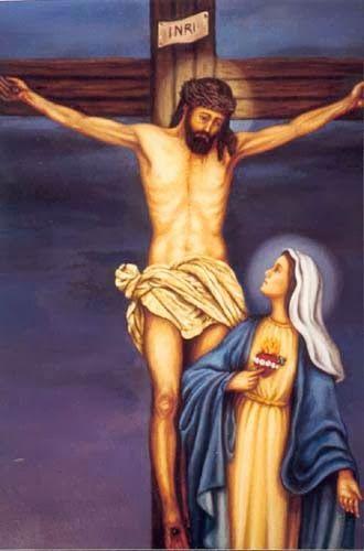 Afligida se vio la Virgen a los pies de la Cruz, afligida me veo, válgame Madre de Dios, confío en Dios con todas mis fuerzas, p...