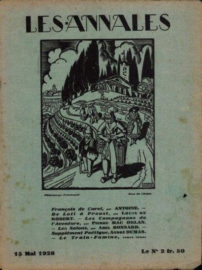 Les annales #2310 : François de Curel