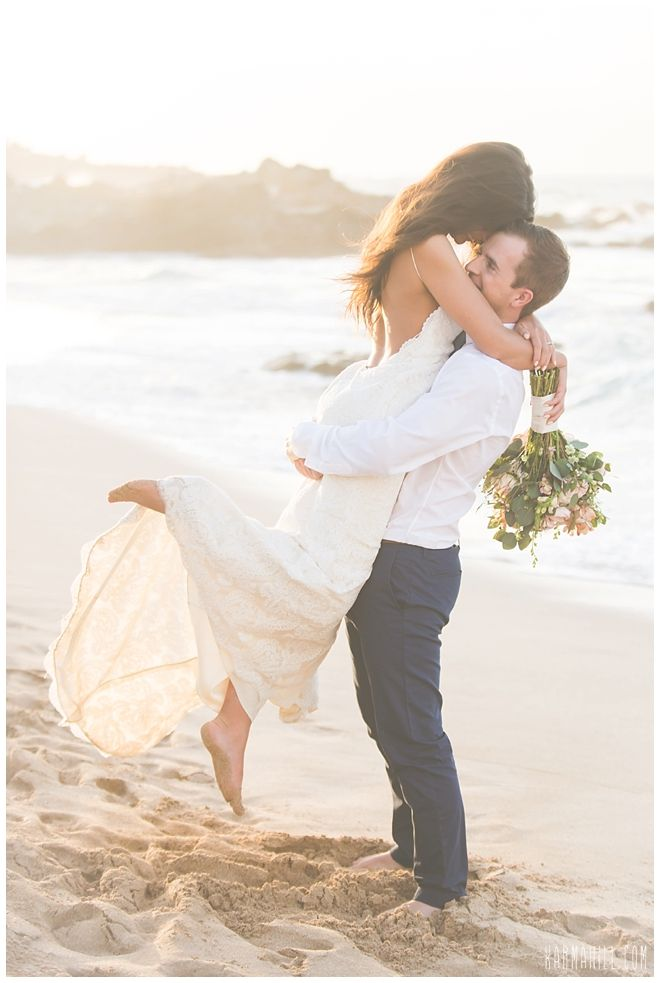 Eloping to Hawaii -- beautiful beach wedding packages by Simple Maui Wedding