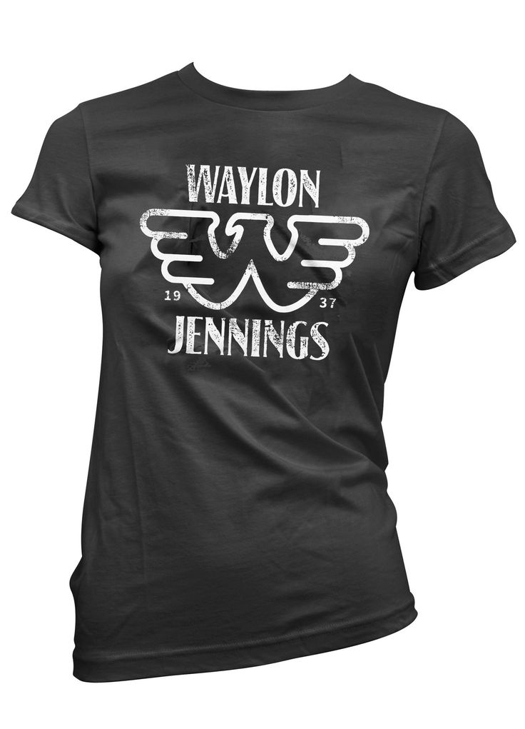Waylon Jennings Merch Co. - Waylon Jennings Est. 1937 Womens Tee Shirt