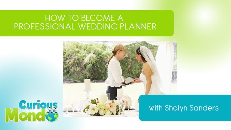 how to become a wedding planner courses and experience