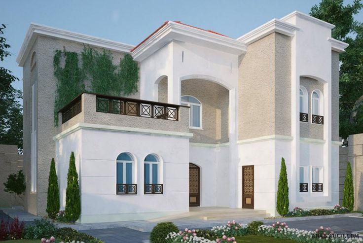 نموذذج فيلا خليجى 4 غرف نوم 368 متر مربع House Styles Dream Home Design House Plans