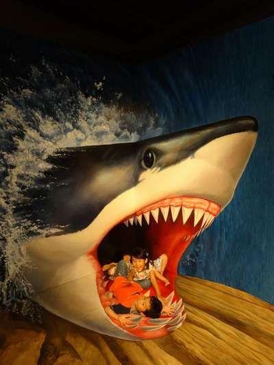 子どもは嬉しいトリックアート!熱海の観光スポット!