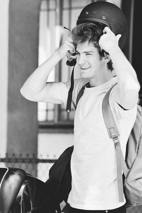 Andrew Garfield....so jealous of Emma stone
