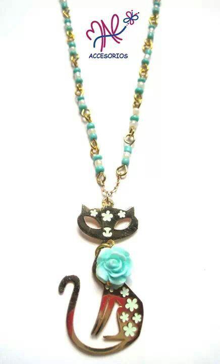 Mar Accesorios ♥ collar gatito oro golfield #accesorios #accessories #aretes #earrings #collares #necklaces #pulseras #bracelets #bisuteria #jewelry #colombia #moda #fashion