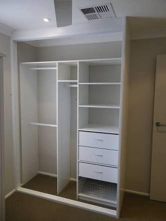 Image result for built in wardrobe storage