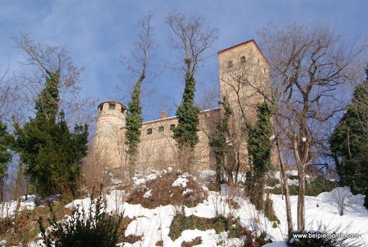 the Castle of Serralunga d'Alba