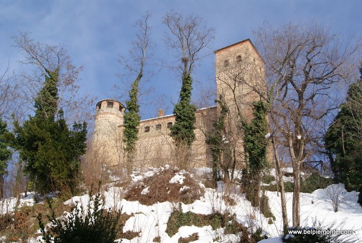 the Castle of Serralunga d'Alba
