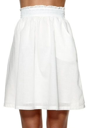 Classified June Skirt Offwhite