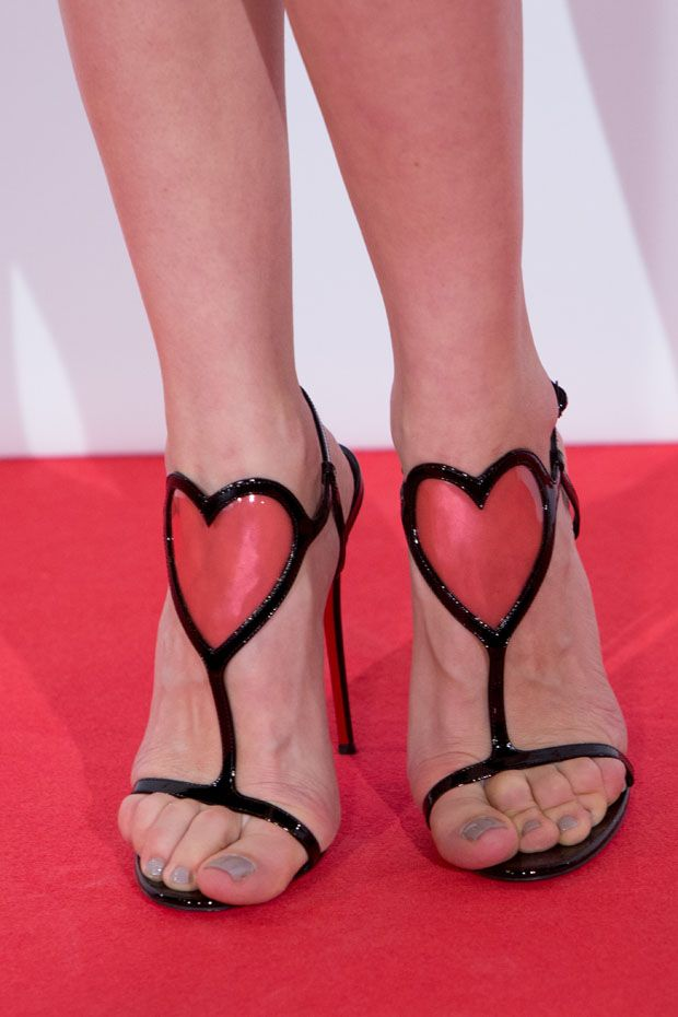 Christian Louboutin 'Cora' Patent Leather Sandals
