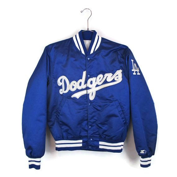 Dodgers Satin Jacket Starter Jacket Los Angeles by ModernMiner