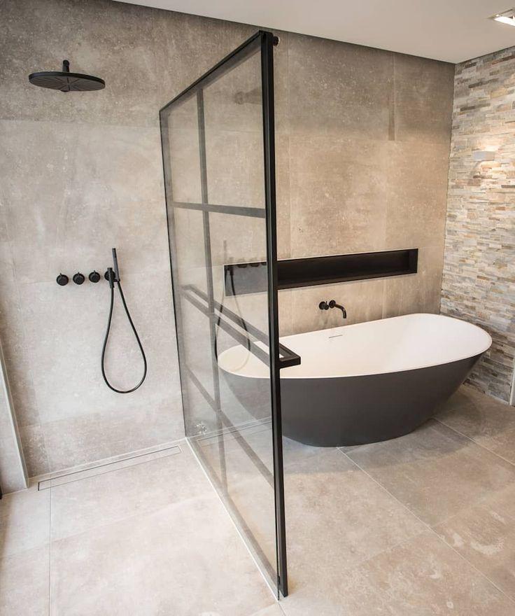 Comment avoir une douche et une baignoire dans la même pièce ? #FoiredeParis #…