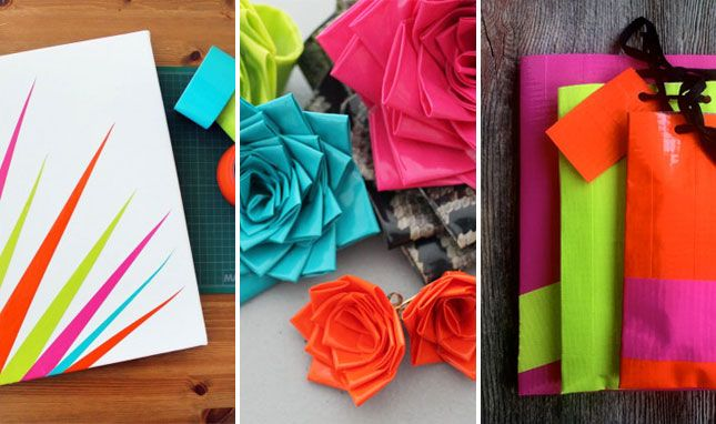 If you win, you can create crafts like a dude...with duct tape!!  Brit & Co's Favorite Duct Tape DIY Projects (+ Free Giveaway!)