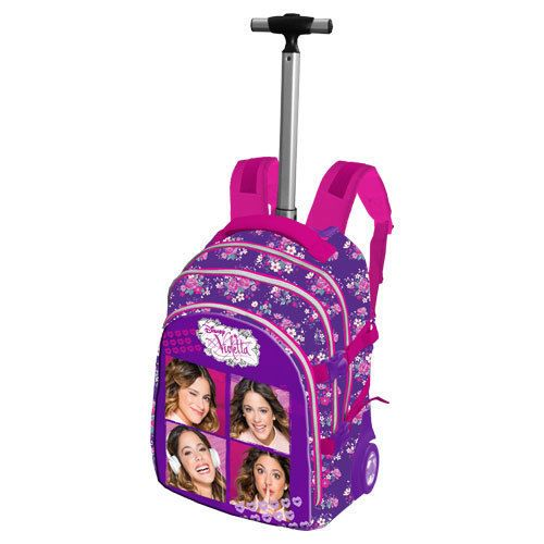 Mochila trolley Collage Violetta Disney