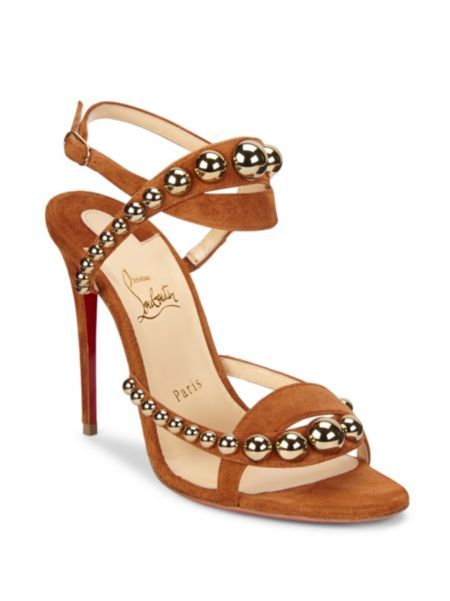 ebebbcec5177 Christian Louboutin - Galleria Leather   Suede Sandals