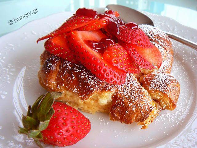 Kitchen Stori.es: Γαλλικό Τοστ με Φράουλες