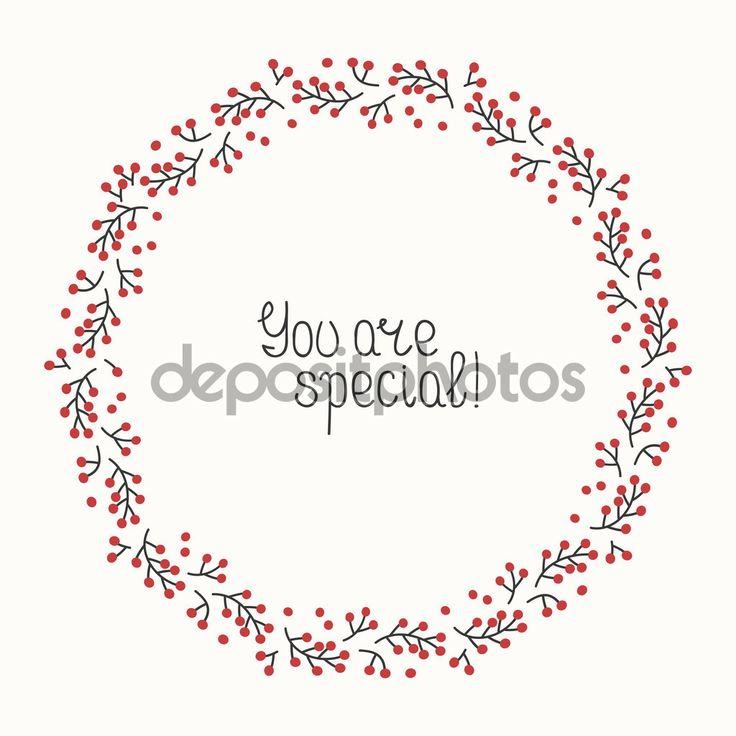 Скачать - Набор ручной обращается осенью рамы ягод. Венок на приглашения и открытки на день рождения. Абстрактные векторные фона. Цветные иллюстрации. Графический стиль. Падения печати. Элементы искусства каракули. Кадр коллекции — стоковая иллюстрация #119323116