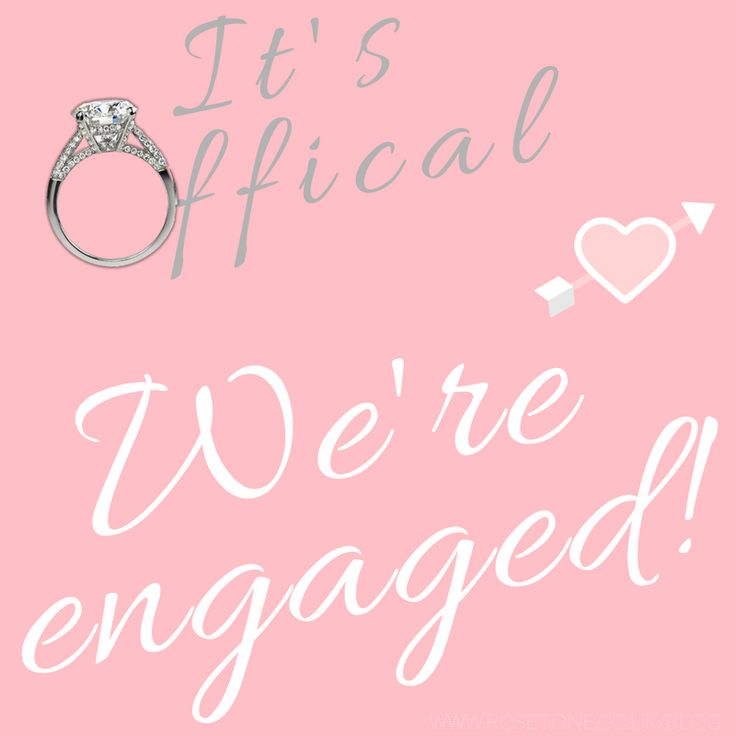 Engagement Announcement Ideas! So you now have the incredible ring, but what do you do after the proposal? Obviously, you want to announce to the world that you and your new fiancée are making it official, so it's time to get creative with engagement announcement photos <3