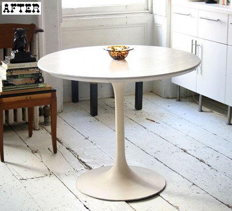 53 best images about tulipe table on pinterest. Black Bedroom Furniture Sets. Home Design Ideas