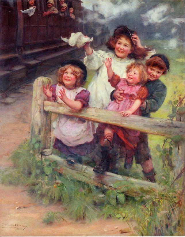 Arthur John Elsley ~ Home Again, c.1900: