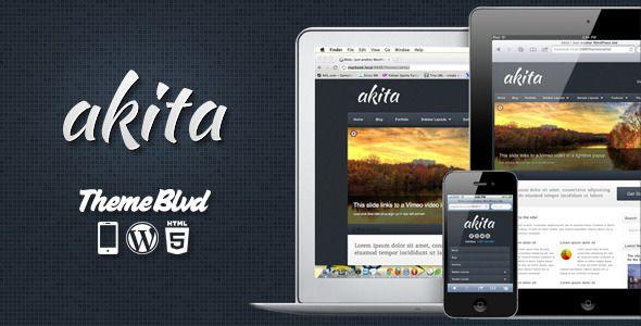 Akita Responsive WordPress Theme