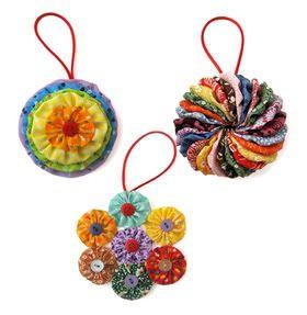Jenny Krauss Yo Yo Ornament Kit