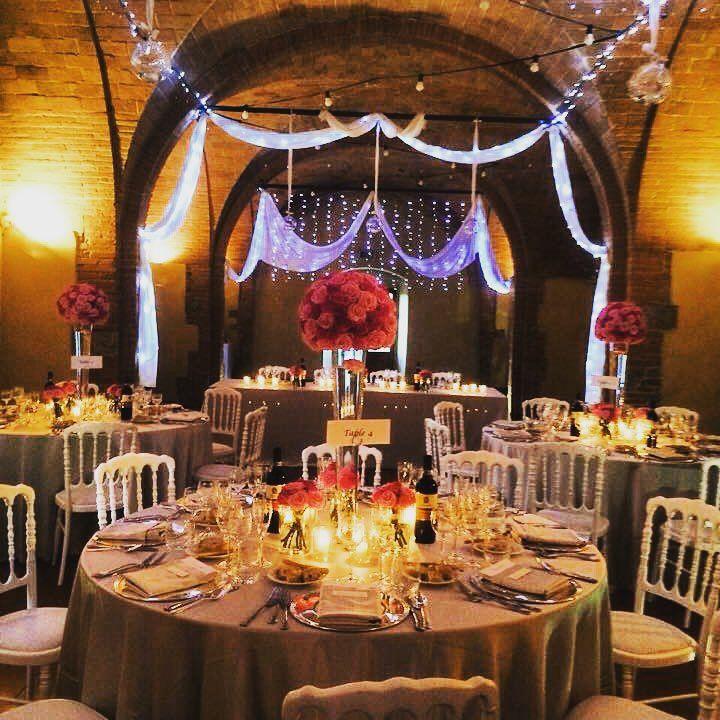 Tinaia hall for the wedding dinner