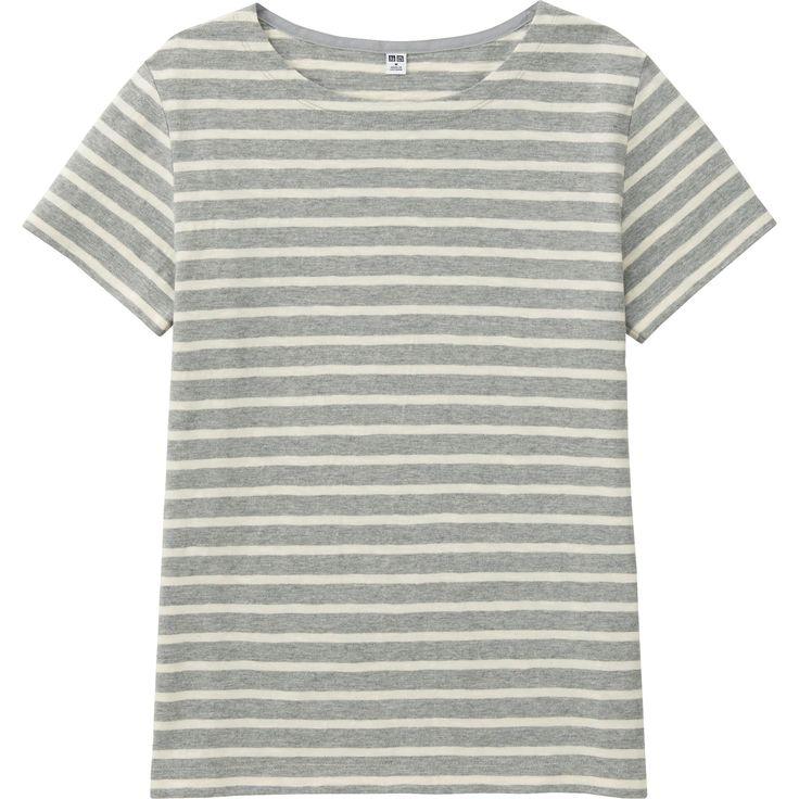 T-Shirt Round Neck Short Sleeve WOMEN | UNIQLO FR