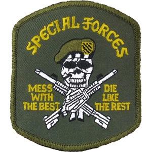 my dad was green beret too!!!!  One badddd dude!!!