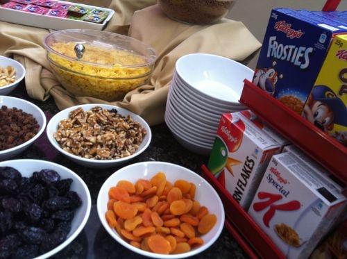 cereales y frutos secos