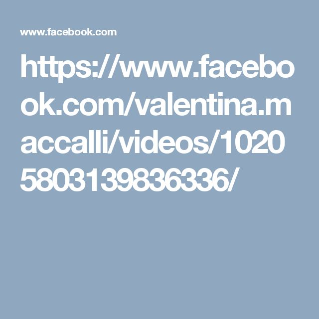 https://www.facebook.com/valentina.maccalli/videos/10205803139836336/