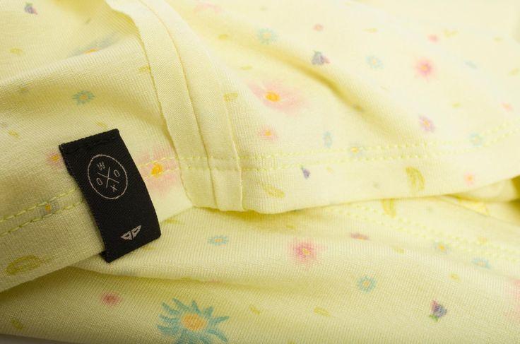 Flos Vest Yellow | woox