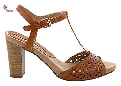 66126, Brogues Femme, Waxed Taupe, 40 EUMaria Mare