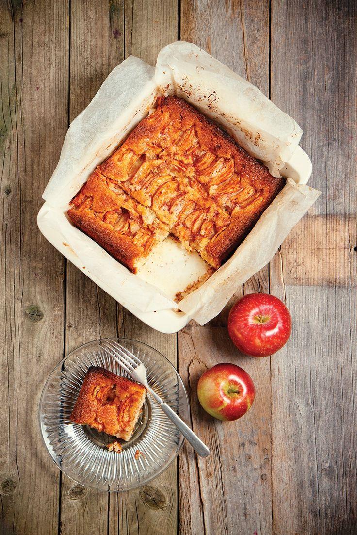Eenvoudige en snelle appelcake
