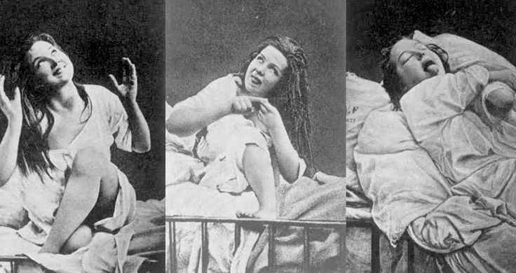 The treatment for female hysteria was a well-known technique, performed by doctors, known as a hysterical paroxysm – also known as an orgasm.