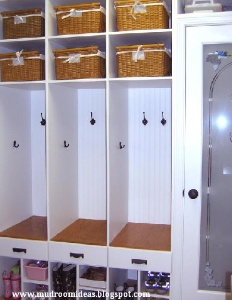 Hall Closet Idea. Not Sure Where This Fits In My House But Looks Great!
