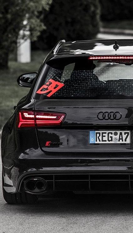 Custom Full Carbon RS6 With Akrapovic Exaust