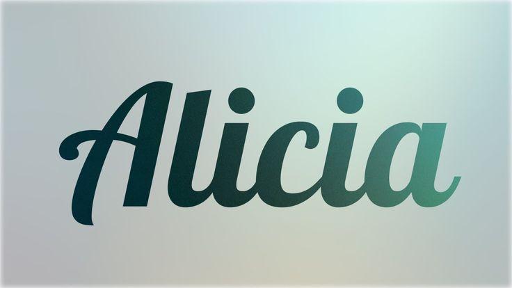 Significado de Alicia, nombre Español para tu bebe niño o niña ...