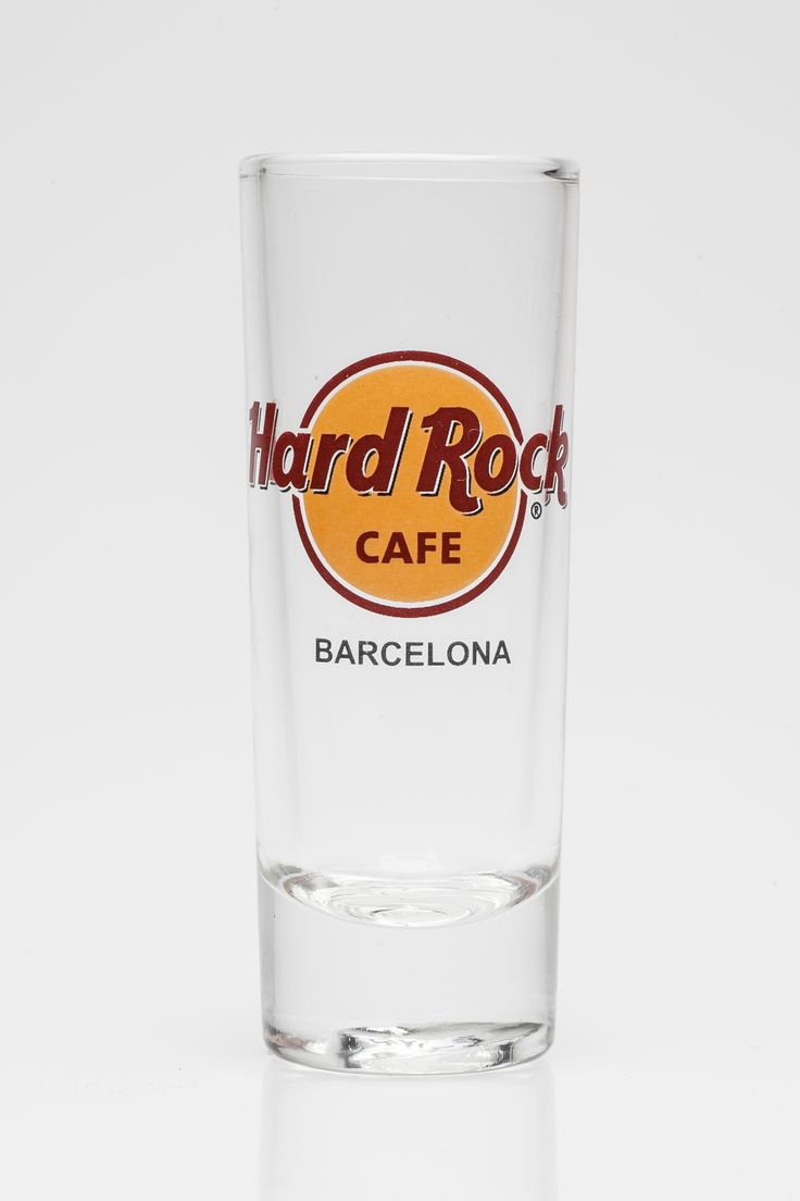 Hard Rock Cafe Barcelona shot glass