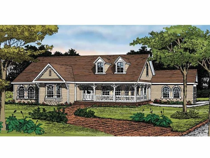 9044dc36ae57c482f634d7f725e8fac4 country house plans country homes 242 best new house plans images on pinterest,Open Floor Plan Country Homes