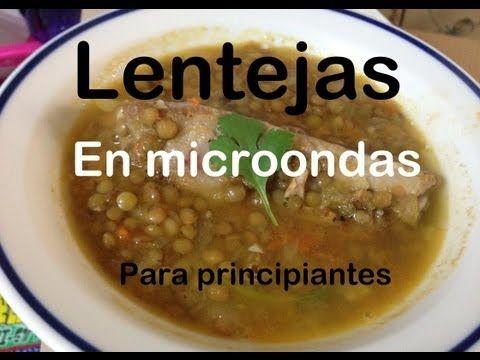 Lentejas En Microondas Cocina Para Principiantes