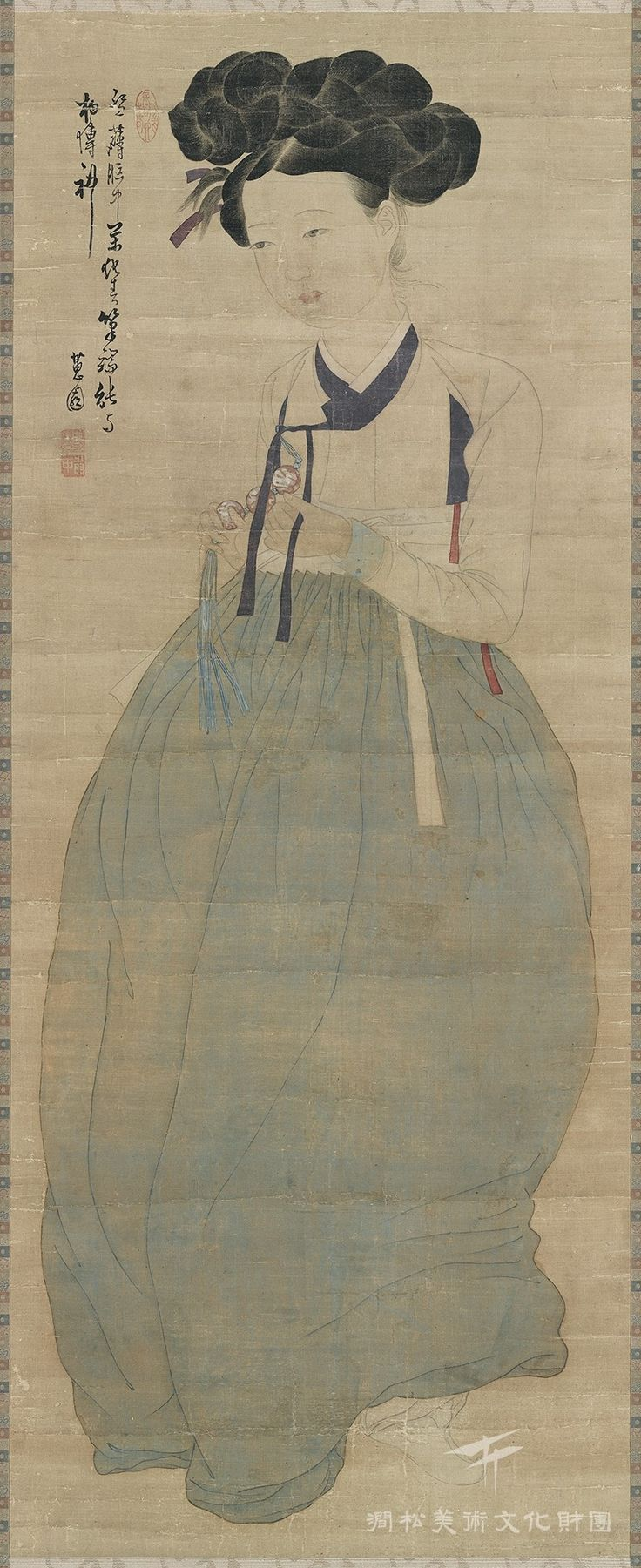 Shin Yun-bok, Portrait of a Beauty © Kansong Art and Culture Foundation