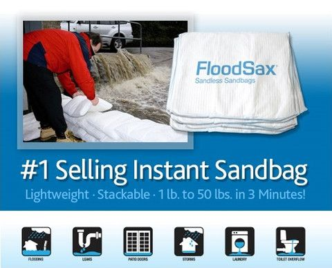 The best selling instant sandless sandbag on the  market.