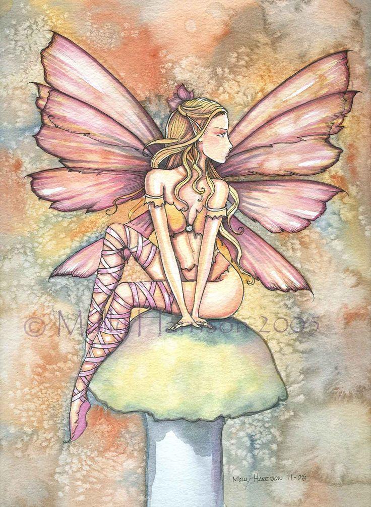 fairie paintings   The Fairy Art and Fantasy Art of Molly Harrison: Fairy Art…