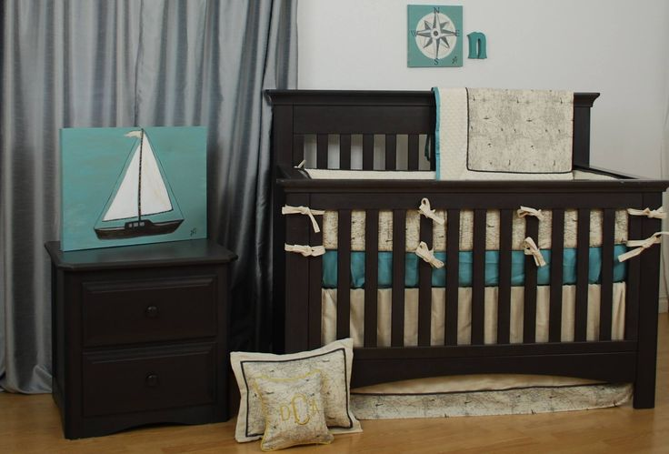 85 best world maps in decor images on pinterest babies rooms world map with aqua sateen crib bedding designed by dana at daisy baby in bethesda md gumiabroncs Gallery