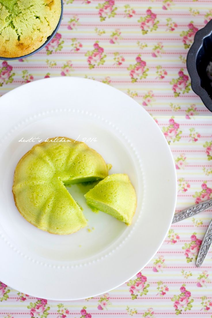 HESTI'S KITCHEN : yummy for your tummy: Pandan Pound Cake